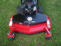 "NEW Worldlawn 48"" Commercial Walk Behind Mower,14.5 HP Kawas"