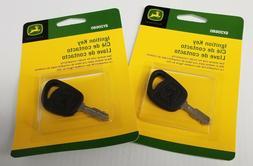 GY20680 John Deere OEM Lawn Mower Ignition Key - Set of 2