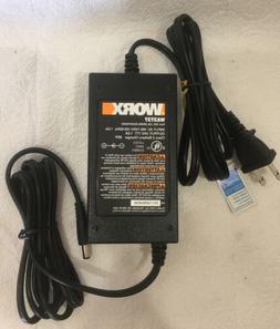 OEM WORX WA3737 Lawn Mower Power Supply AC Adapter 24V WA321