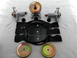 "Poulan Pro PB26H54YT 54"" Mower Deck Rebuild Kit Spindles Bla"