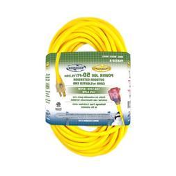 Snow Joe PJEXT50-B Power Joe 14/3 50-Feet SJTW Outdoor Exten