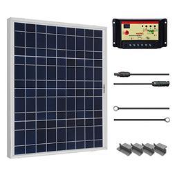 Renogy 50 Watt 12 Volt Polycrystalline Solar Starter Kit