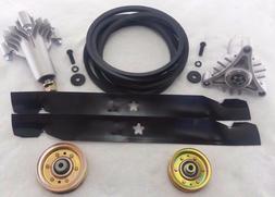 """Poulan Pro PR1842STC 42"""" Lawn Tractor Deck Rebuild Kit Blade"""