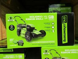 Pro 60-volt Brushless Ion 21-in Cordless Electric Lawn Mower