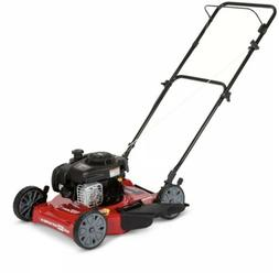 Push Lawn Mower Gas Lightweight Compact Adjustable Height Cu