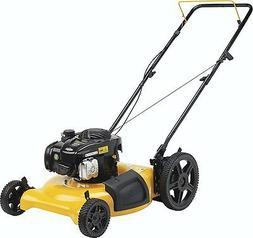 "Push Mower Hi-Wheel Side Discharge & Mulch 2-in-1 21"" Deck 1"