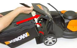 WORX Replacement Lawn Mower Grass Catcher Black NEW 50021832