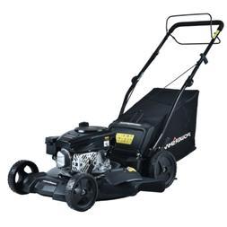 PowerSmart Self Propelled Lawn Mower 21 in. 170 cc Gas Bagge