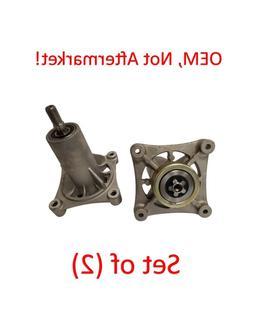 """Set 2 Craftsman 42"""" Deck Spindle Assembly YT4000, YS4500 187"""