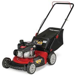 """Troy-Bilt Gas Lawn Mower 21"""" 140cc Walk Behind Push 3-in-1 C"""