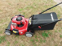 "Troy-Bilt TB110  21"" Self-Propelled Mower with Bag"