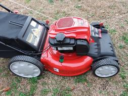 "Troy-Bilt TB230  21"" Self-Propelled Mower with Bag"