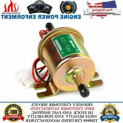 Universal Electric Inline Fuel Pump 12V For Lawn Mowers Smal