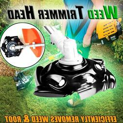Weed Trimmer Head Lawn Mower Sharpener Head for Power Conven