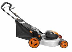 "WORX WG720 12 Amp 19"" Electric Lawn Mower w/ NutriCut Natura"