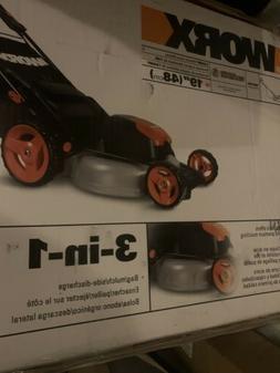 """WORX WG720 Electric Lawn Mower, 12A, 20"""""""
