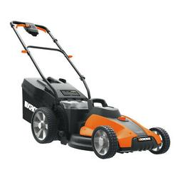 Worx WG744 17 in. Lawn Mower Kit New