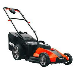Worx WG744 40V 17 Inch Power Share Cordless Mulching Lawn Mo