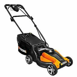 "WORX WG775 24V Cordless 14"" Lawn Mower with Removable Batter"